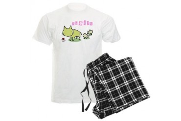 Sheila Cute Men's Light Pajamas by CafePress