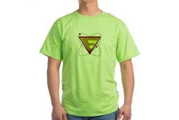 Dr. Evil Logo on Entertainment / pop culture Green T-Shirt by CafePress