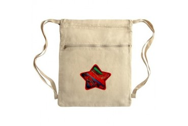 Windy Star Sack Pack Art Cinch Sack by CafePress