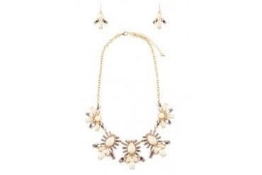 Sze Accessories Elegant Necklace And Earrings Set