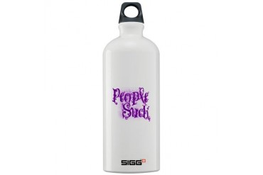 People Suck Purple Truth Sigg Water Bottle 1.0L by CafePress