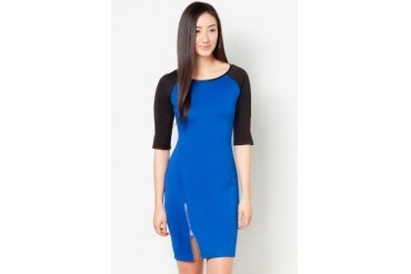 DressingPaula Knee Length Dress With Slit