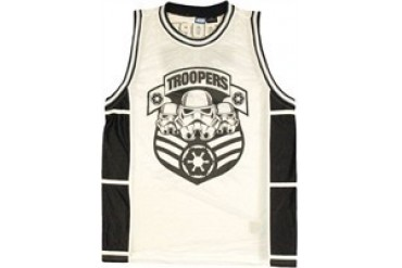 Star Wars Trooper Army Basketball Jersey