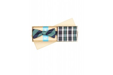 Original Penguin BOW TIE AND POCKET SQUARE GIFT SET