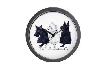TailEndProductions.Com Pets Wall Clock by CafePress