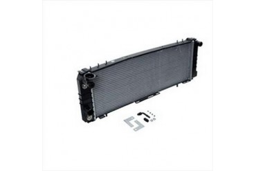 Omix-Ada Replacement 2 Core Radiator for 4.0L 6 Cylinder Engine with Automatic Transmission 17101.21 Radiator