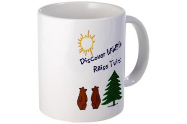 Discover Wildlife - Raise Twins Twins Mug by CafePress