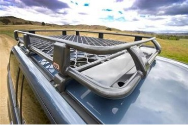 ARB 4x4 Accessories Alloy Roof Rack Basket with Mesh Floor 4913010M Roof Rack