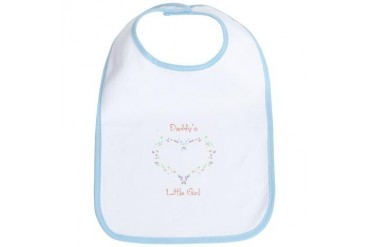 Daddy's Girl Forever Funny Bib by CafePress