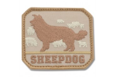 Mil-Spec Monkey Sheep Dog Patch - Desert