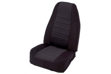 Smittybilt Neoprene Front Seat Cover in Black 47701 Seat Cover