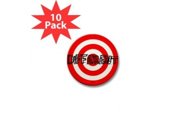 10x DIFFERENT Mini Buttons Unique Mini Button 10 pack by CafePress