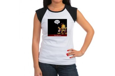Honey, I love you Valentines day Women's Cap Sleeve T-Shirt by CafePress