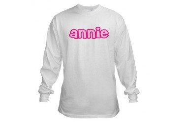 Annie Unique Long Sleeve T-Shirt by CafePress