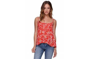 Womens Billabong Shirts & Blouses - Billabong Glass Petals Top