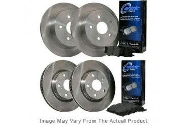 2000-2001 Audi A4 Quattro Brake Disc and Pad Kit Centric Audi Brake Disc and Pad Kit BKB304737 00 01
