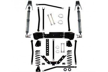 Rock Krawler 3.5 Inch X Factor Plus Comp Coil Over Long Arm Lift Kit JK350054 Complete Suspension Systems and Lift Kits