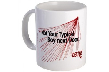 "Dexter ""boy next door"" Mug"