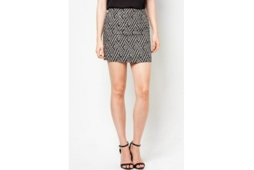 DressingPaula Printed Short Skirt