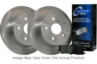 1996 Audi A4 Quattro Brake Disc and Pad Kit Centric Audi Brake Disc and Pad Kit BKR202650 96