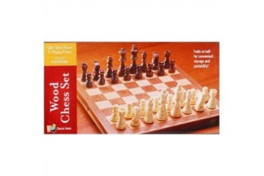 Small Wooden Chess Set