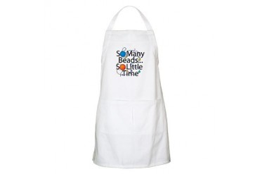 So Many Beads.... BBQ Hobbies Apron by CafePress