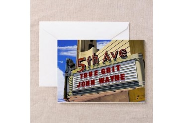 Fifth Avenue Theater Vintage Greeting Cards Pk of 10 by CafePress