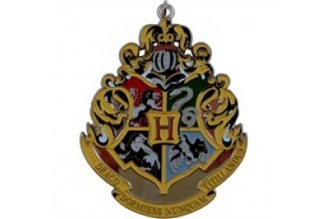 Harry Potter Hogwarts Crest Metal Keychain