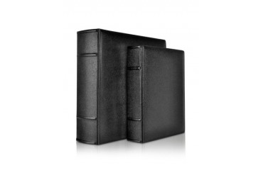 City Chic - Black Grained Calf Leather Photo Album