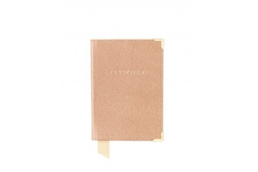 Deer Saffiano Plain Passport Cover