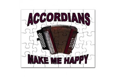 ACCORDIANS Music Puzzle by CafePress