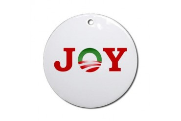OBAMA JOY Ornament (Round)