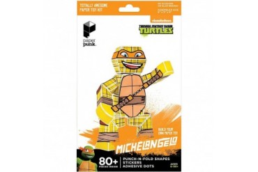 TMNT Michelangelo Paper Punk Action Figure
