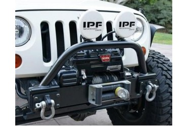 PUREJEEP Bolt-On Front Winchguard with Light Mounts  PJ1051 Front Bumpers