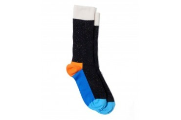 Happy Socks 5 Color Socks Black