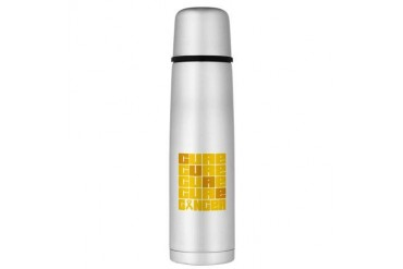 CURE Neuroblastoma Collage Large Thermos Bottle Cancer Large Thermosreg; Bottle by CafePress