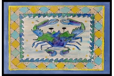 Crab Indoor or Outdoor Mat 24x36 8072 Doormat