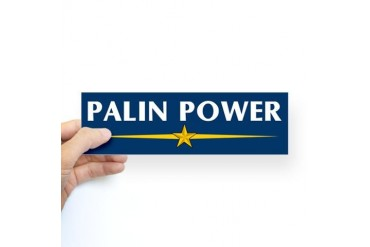 Palin Power Bumper Sticker