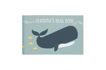 Under The Sea Grandmas Photo Brag Book Blue Whale Coastal Design