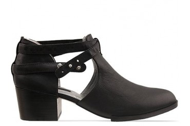 Senso Qimat in Black Calf size 6.0