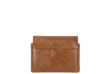 Leather envelope for iPad mini - Golden tan Case