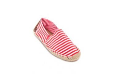 Wide Stripe Slip-on Espadrilles