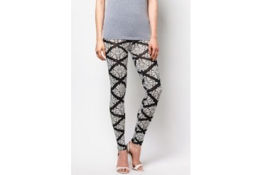 CLUB ZEN Printed Leggings