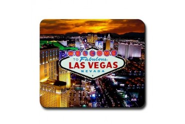 Las Vegas Strip South Mousepad