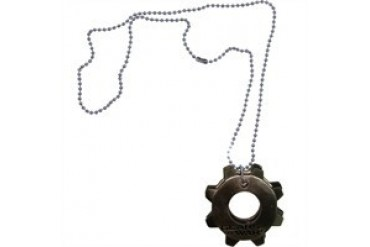 Gears of War Metal Cog Tags Necklace
