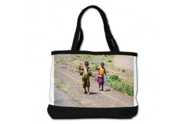 Kids of Africa 3 Cute Shoulder Bag by CafePress