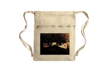 Tuareg Sack Pack Art Cinch Sack by CafePress