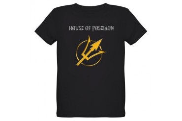 House of Poseidon Organic Kids T-Shirt (dark)