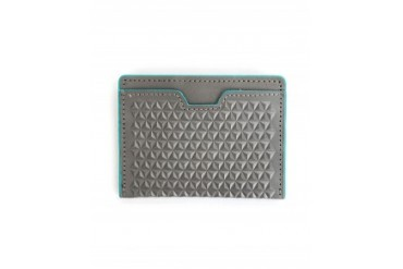 J. Fold Tetra Card Wallet Grey Grey