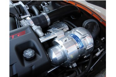 ProCharger HO Intercooled System with i-1 Satin Finish Chevrolet Corvette Z06 LS7 06-13